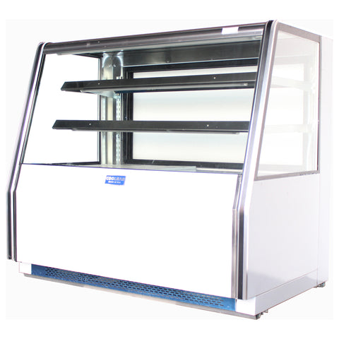 "Coolman 72"" Refrigerated Bakery Pastry Display Case - Coolman Refrigeration Inc."