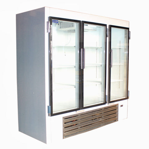 Coolman 75'' Glass Door Reach In Soda Case MK-75PG - Coolman Refrigeration Inc.