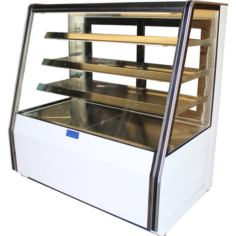 "Coolman 72"" High Bakery Dry Display Case - Coolman Refrigeration Inc."
