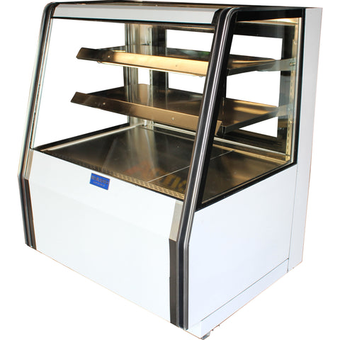 "Coolman 36"" Refrigerated Dry Counter Bakery Display Case - Coolman Refrigeration Inc."