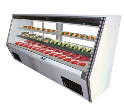 "Coolman 84"" Refrigerated High Deli Display Case - Coolman Refrigeration Inc."