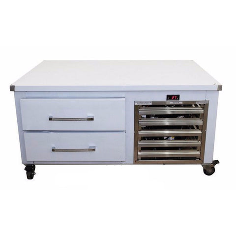 "37"" Chef Base Equipment Stand Refrigerator Two Drawers - Coolman Refrigeration Inc."