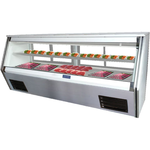 "Coolman 117"" Refrigerated Counter Deli Case US-Made with US Compressor - Coolman Refrigeration Inc."