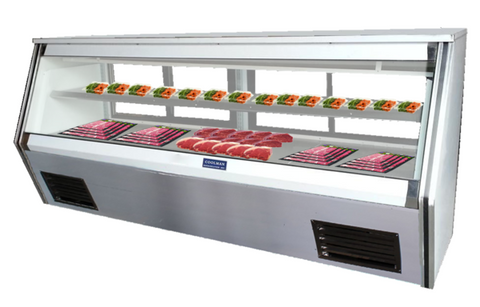 "Coolman 84"" Refrigerated Counter Deli Case US-Made with US Compressor - Coolman Refrigeration Inc."