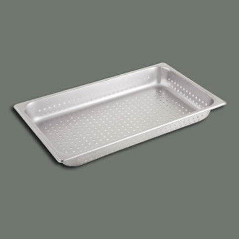 "Winco SPFP2 Stainless Steel Full Size Pan Perforated 2-1/2"" - Coolman Refrigeration Inc."