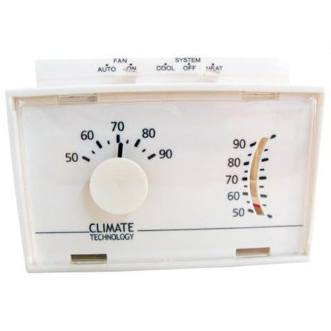 43004A--MECHANICAL WALL THERMOSTAT - Coolman Refrigeration Inc.