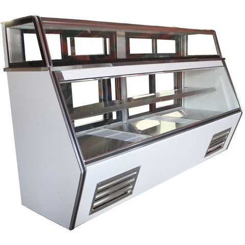 "Coolman 117"" Commercial Refrigerated 7-11 Style Deli Meat Case - Coolman Refrigeration Inc."