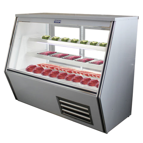 "48"" Refrigerated High Deli Display Case - Coolman Refrigeration Inc."