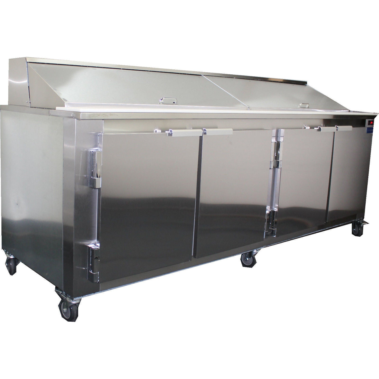 Commercial Refrigerated Sandwich Prep Table Back Motor - Commercial sandwich prep table