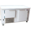 "Coolman 60"" Commercial 1-1/2 Door Low Boy Worktop Refrigerator - Coolman Refrigeration Inc."