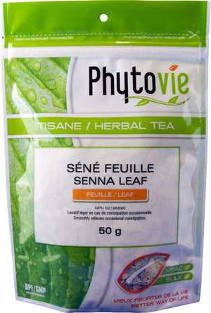 SENNA FEUILLE 50G PHYTOVIE