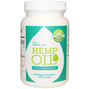 HEMP OIL 60CAP M.HARVEST