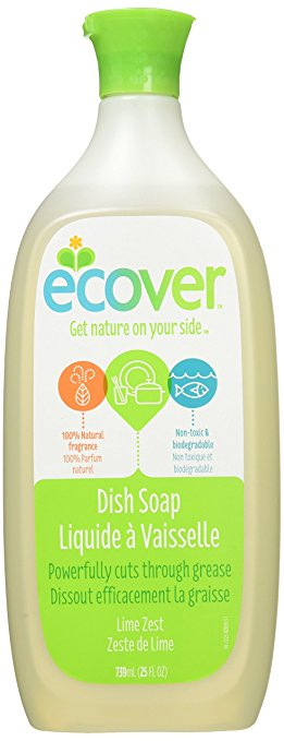 DISH SOAP 739M LIME ZEST ECO