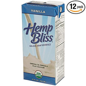 LAIT HEMP BLISS 946M VANILLE