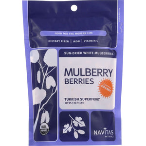 MULBERRY DRIED 113G NAVI