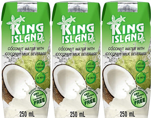 EAU COCO 3*250ML KING ISLAND