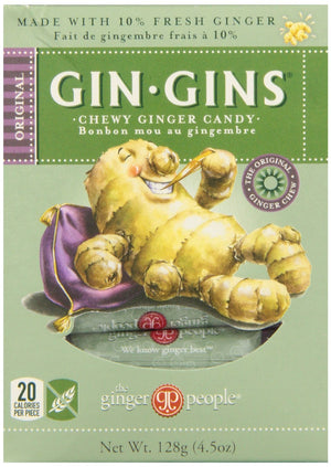 GINGER CHEWS 128G ORIGINALES