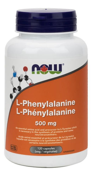 L-PHENYLALANINE 120CAP NOW