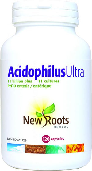 ACIDOPHILUS ULTRA 11BIL.120 CAP NEW ROOTS