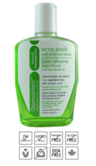 ACNE-WASH 240ML DERMAMED