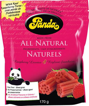 LICORICE 170G RASPBERRY FRAM