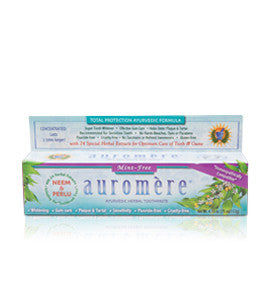 TOOTHPASTE 117G MINT FREE AUROMERE