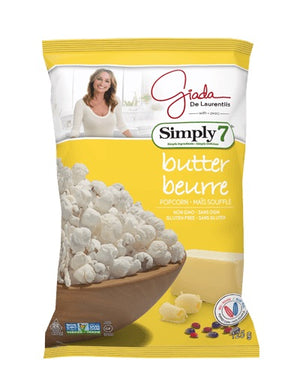 POP CORN SIMPLY7 125G BUTTER