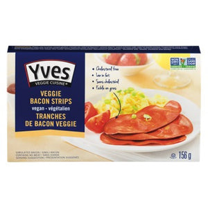 BACON STRIPS VEGGIE 156G YVE