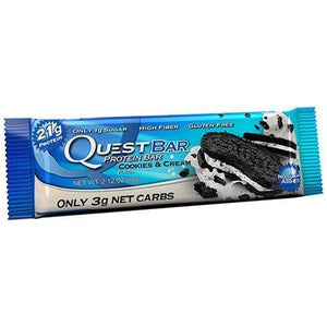 BAR 60G COOKIES CREAM QUEST