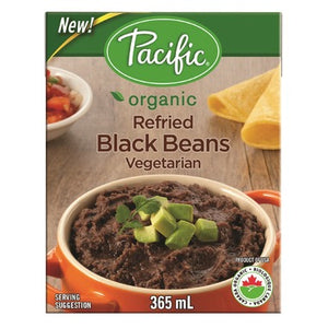 BLACK BEANS 365M REFRIED ORG