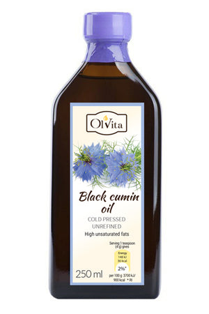 BLACK CUMIN OIL 250M OLVITA