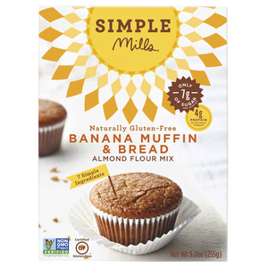 BANANA MUFFIN & BREAD MIX 255G SIMPLE MILLS