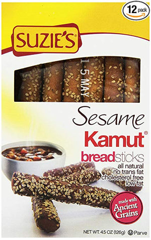 BREADSTICKS 125G SESAME KAMU