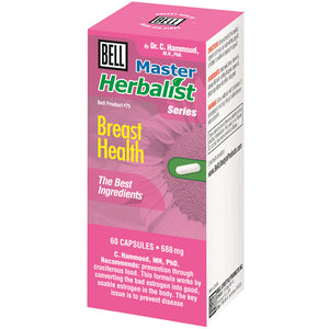 BREAST HEALTH 60CAP SEINS SA