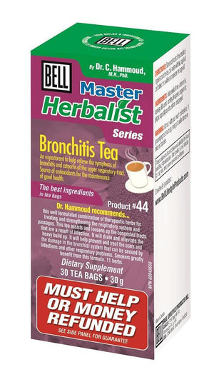 BRONCHITIS TEA 30BAG BELL