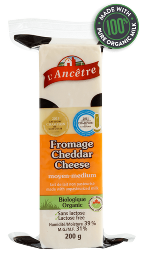 FROMAGE CHEDDAR MEDIUM 200GR