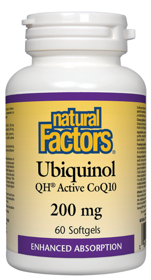 UBIQUINOL 60CAP 200MG N.FACT