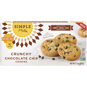 CRUNCHY COOKIES 156G CHOCOLATE CHIPS
