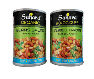 SALADE FEVES BIO 540ML SAHAR