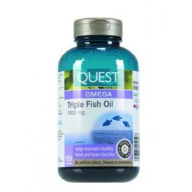 FISH OIL TRIPLE 120CAP QUEST