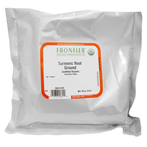 TURMERIC GROUND ROOT 453G CU