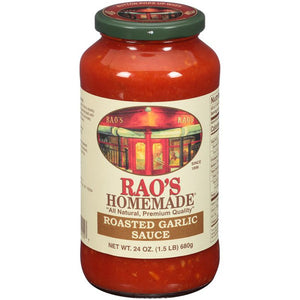 SAUCE 680 ML ROASTED GARLIC
