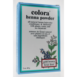 COLORA HENNA 60G GOLD BROWN
