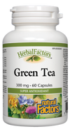 GREEN TEA 60CAP N.FACTORS