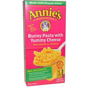 BUNNY PASTA 170G ANNIES