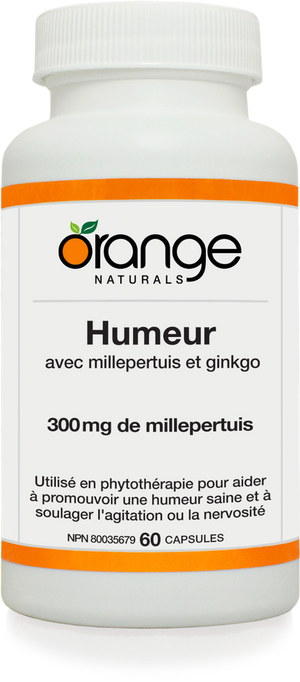 MOOD HUMEUR 60CAP ORANGE