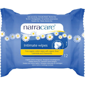 WIPES INTIMATE 12ORG.NATRAC
