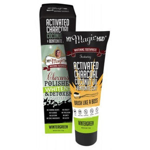 TOOTHPASTE 113G CHARCOAL WINTERGREEN