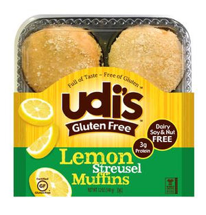MUFFIN 340G CITRON S/G UDIS