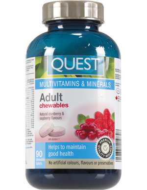 MULTIVITAMIN CROQ 90C ADULT